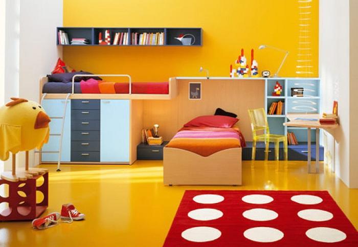 Pintura en dormitorios infantiles en Zaragoza